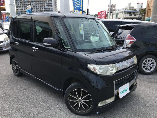 沖縄の中古車 ダイハツ タント 車両価格 39万円 リ済別 2008(平成20)年 9.3万km ブラック