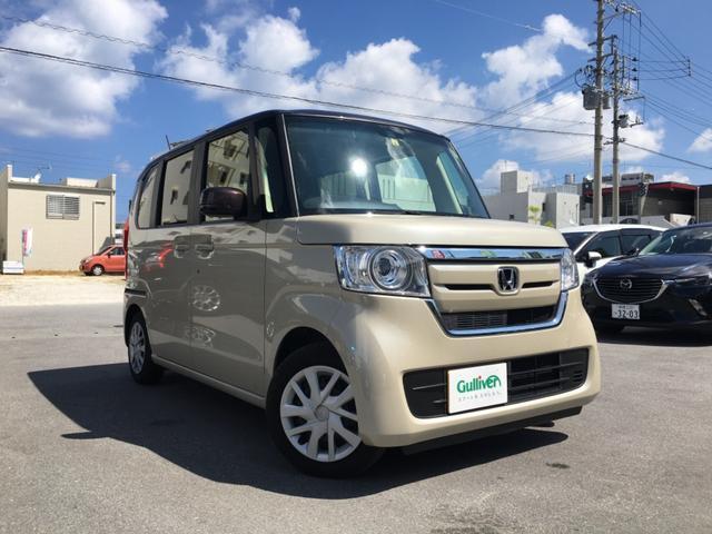 沖縄県宜野湾市の中古車ならN-BOX G・Lホンダセンシング