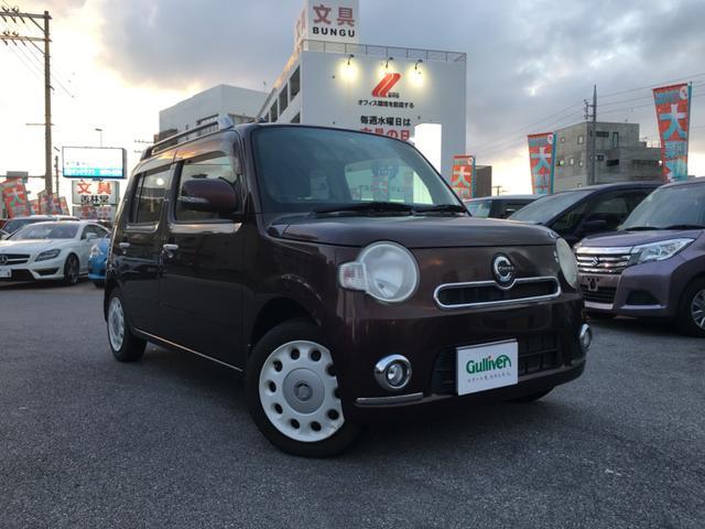 沖縄県の中古車ならミラココア ココアプラスXスペシャルコーデ 社外ナビ TV DVD再生 BTオーディオ スマートキー バックカメラ