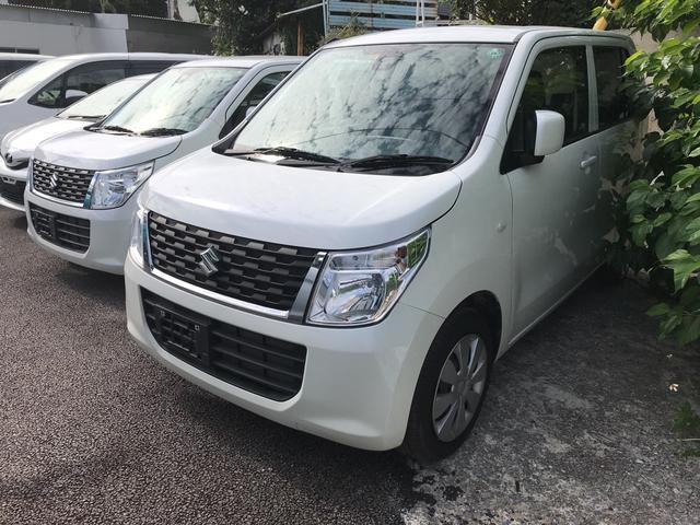 沖縄県浦添市の中古車ならワゴンR FX TV ナビ 軽自動車 ホワイト CVT 保証付