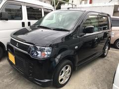 沖縄の中古車 三菱 eKスポーツ 車両価格 48万円 リ済込 平成22年 8.9万K ブラック