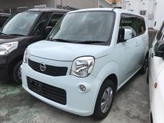 沖縄の中古車 日産 モコ 車両価格 48万円 リ済込 平成24年 10.9万K ライトブルー