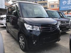沖縄の中古車 日産 ルークス 車両価格 80万円 リ済込 平成25年 7.5万K ブラック
