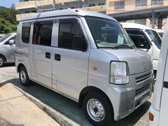 沖縄の中古車 スズキ エブリイ 車両価格 48万円 リ済込 平成24年 10.2万K シルバー