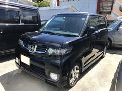 沖縄の中古車 ホンダ ゼストスパーク 車両価格 58万円 リ済込 平成23年 10.9万K ブラック
