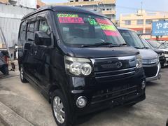沖縄の中古車 ダイハツ アトレーワゴン 車両価格 38万円 リ済込 平成17年 9.1万K ブラック