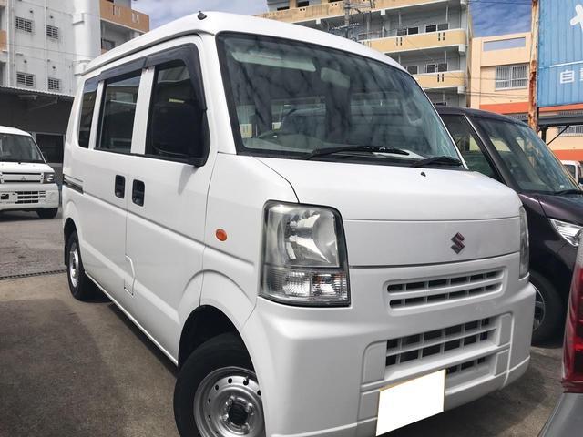 沖縄の中古車 スズキ エブリイ 車両価格 28万円 リ済込 平成18年 7.3万km ホワイト