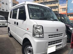沖縄の中古車 スズキ エブリイ 車両価格 28万円 リ済込 平成18年 7.3万K ホワイト