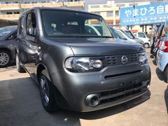 沖縄の中古車 日産 キューブ 車両価格 45万円 リ済込 平成23年 6.2万K グレー