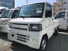 沖縄の中古車 三菱 ミニキャブトラック 車両価格 48万円 リ済込 平成23年 9.4万K ホワイト