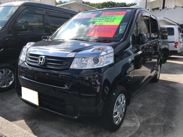 沖縄の中古車 ホンダ ライフ 車両価格 55万円 リ済込 平成25年 6.6万km ブラック