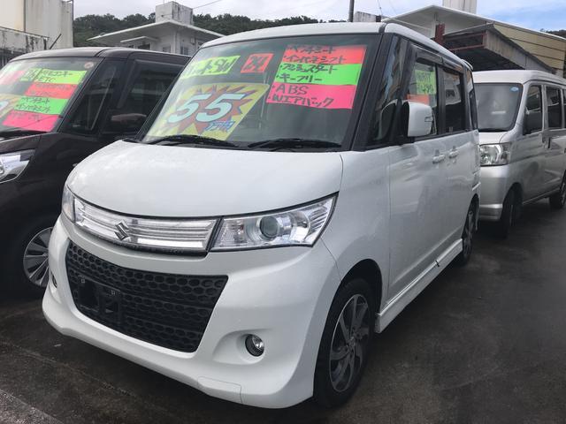沖縄の中古車 スズキ パレットSW 車両価格 55万円 リ済込 平成24年 12.8万km パール