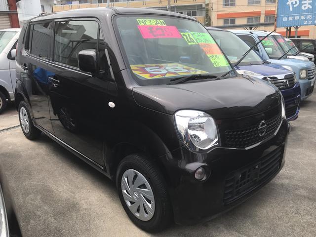 沖縄の中古車 日産 モコ 車両価格 58万円 リ済込 平成26年 8.0万km ブラック