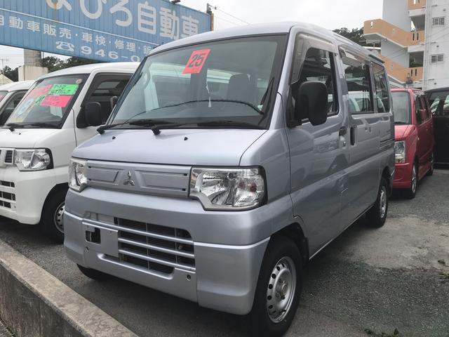 沖縄の中古車 三菱 ミニキャブバン 車両価格 53万円 リ済込 2013(平成25)年 10.0万km シルバー