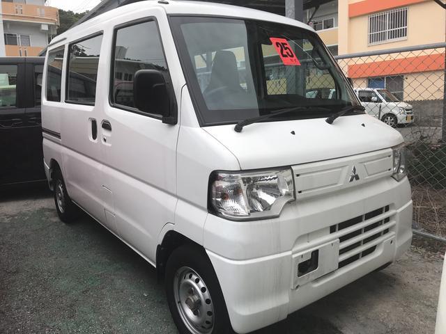 沖縄の中古車 三菱 ミニキャブバン 車両価格 53万円 リ済込 2013(平成25)年 10.3万km ホワイト