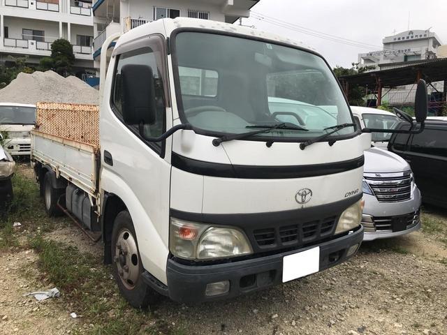 沖縄の中古車 トヨタ ダイナトラック 車両価格 79万円 リ済込 平成18年 22.8万km ホワイト