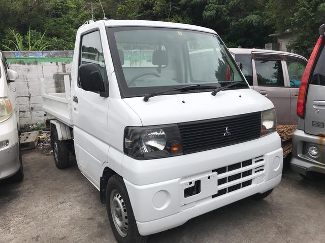 沖縄の中古車 三菱 ミニキャブトラック 車両価格 68万円 リ済込 平成18年 9.3万km ホワイト
