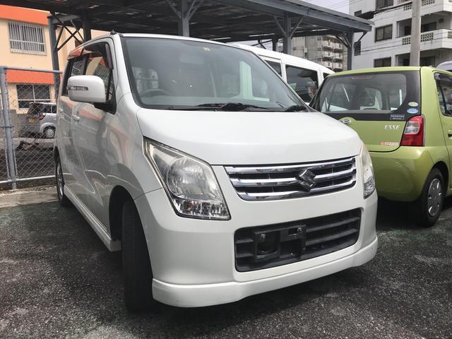 沖縄の中古車 スズキ ワゴンR 車両価格 48万円 リ済込 2010(平成22)年 6.9万km ホワイト