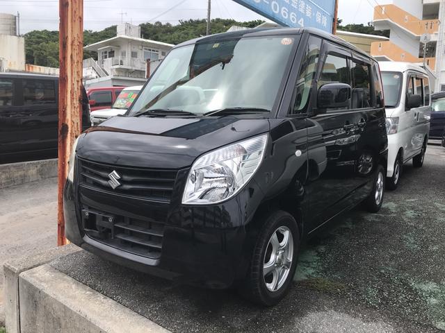 沖縄の中古車 スズキ パレット 車両価格 55万円 リ済込 2012(平成24)年 8.9万km ブラック