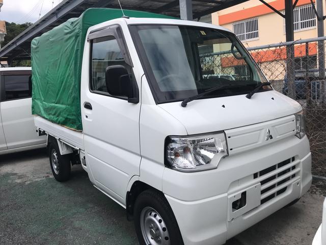 沖縄の中古車 三菱 ミニキャブトラック 車両価格 45万円 リ済込 2012(平成24)年 8.4万km ホワイト