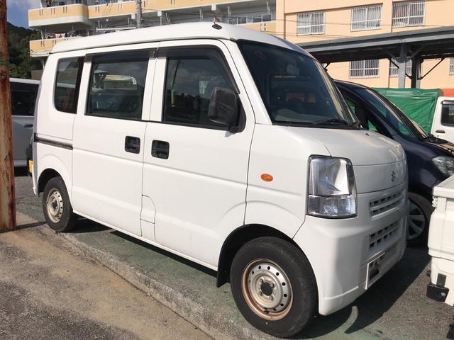 沖縄の中古車 スズキ エブリイ 車両価格 45万円 リ済込 2013(平成25)年 10.8万km ホワイト