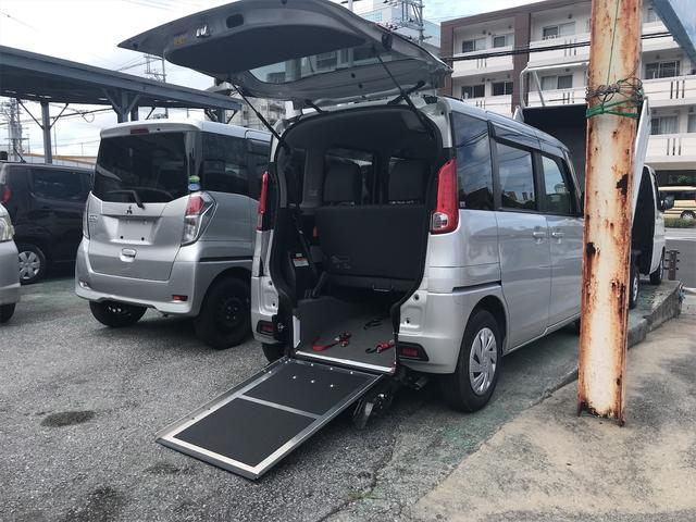 沖縄県島尻郡与那原町の中古車ならスペーシア 車いす移動車 E リヤシート付