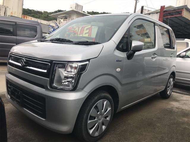 沖縄の中古車 スズキ ワゴンR 車両価格 79万円 リ済込 2018(平成30)年 1.8万km シルバー