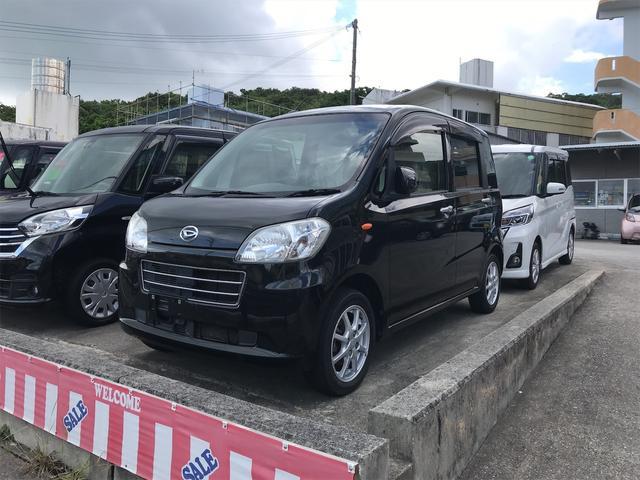 沖縄の中古車 ダイハツ タントエグゼ 車両価格 58万円 リ済込 2013(平成25)年 7.6万km ブラック