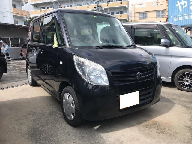 沖縄の中古車 スズキ パレット 車両価格 58万円 リ済込 2012(平成24)年 6.0万km ブラック