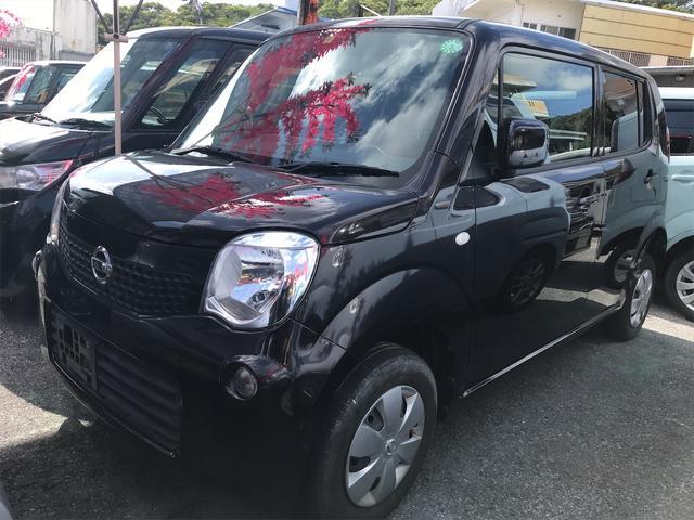 沖縄の中古車 日産 モコ 車両価格 58万円 リ済込 2012(平成24)年 8.3万km ブラック