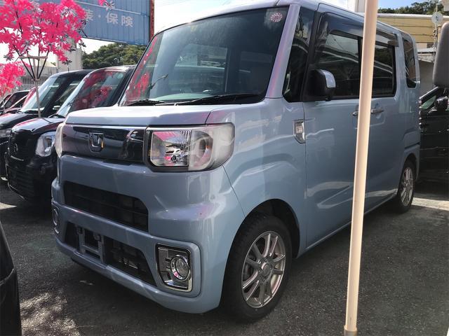 沖縄の中古車 ダイハツ ウェイク 車両価格 107万円 リ済込 2018(平成30)年 3.2万km ライトブルー