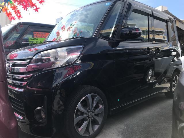 沖縄の中古車 日産 デイズルークス 車両価格 85万円 リ済込 2015(平成27)年 6.1万km ブラック