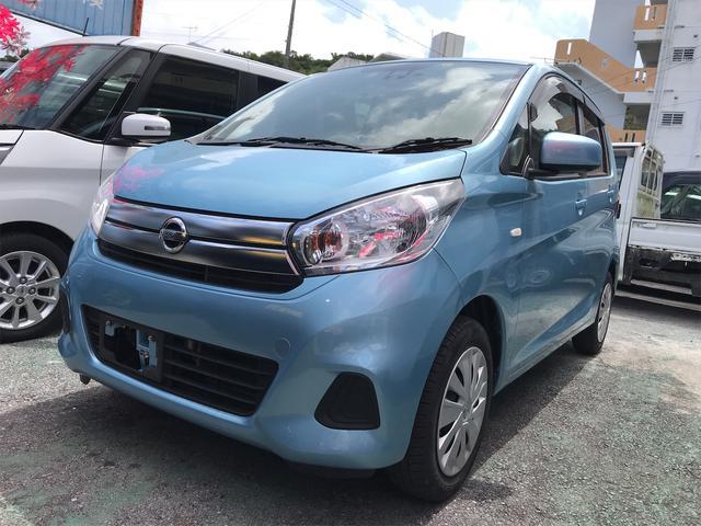 沖縄の中古車 日産 デイズ 車両価格 73万円 リ済込 2018(平成30)年 5.4万km ライトブルー