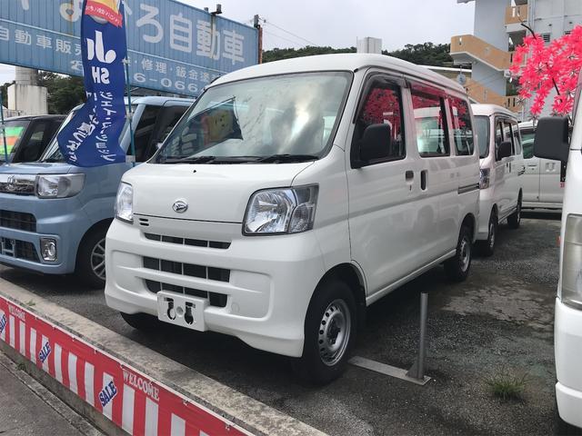 沖縄県の中古車ならハイゼットカーゴ スペシャル AM/FMラジオ インパネAT エアコン 両側スライドドア