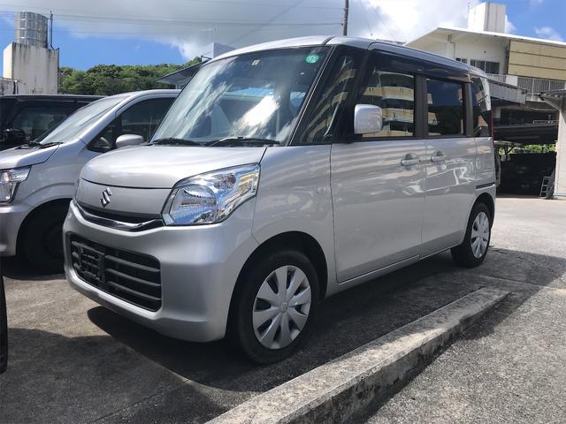 沖縄の中古車 スズキ スペーシア 車両価格 79万円 リ済込 2016(平成28)年 3.7万km シルバー