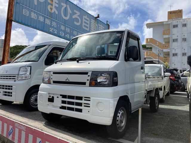 沖縄の中古車 三菱 ミニキャブトラック 車両価格 45万円 リ済込 2011(平成23)年 9.7万km ホワイト
