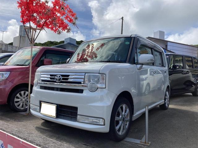 トヨタ ピクシススペース カスタム X アイドリングストップ 社外アルミ