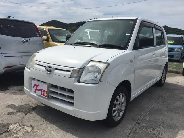 沖縄の中古車 マツダ キャロル 車両価格 19万円 リ済込 平成17年 11.8万km スペリアホワイト