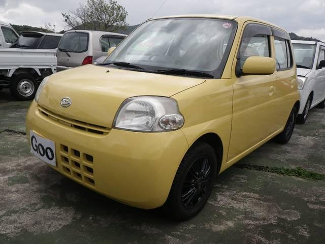 沖縄の中古車 ダイハツ エッセ 車両価格 19万円 リ済込 平成18年 9.9万km イエロー