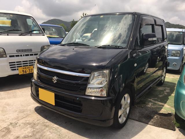 沖縄の中古車 スズキ ワゴンR 車両価格 19万円 リ済込 2005(平成17)年 18.2万km ブラック