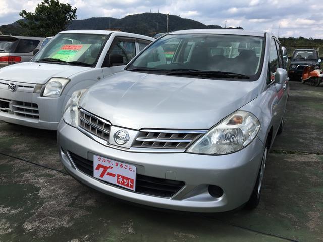 沖縄の中古車 日産 ティーダラティオ 車両価格 39万円 リ済込 2010(平成22)年 2.4万km シルバーM