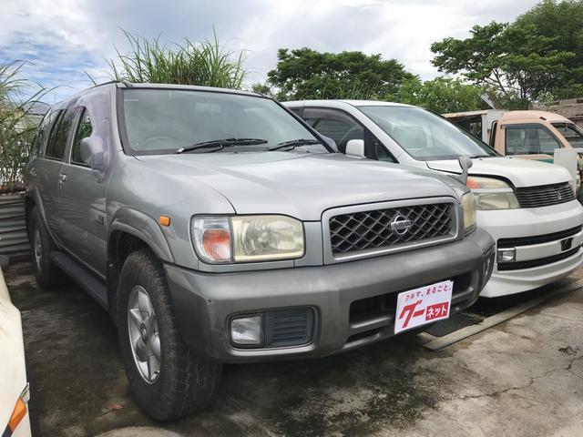 沖縄の中古車 日産 テラノ 車両価格 40万円 リ済込 2001(平成13)年 16.1万km シルバー