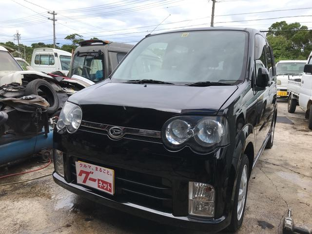 沖縄の中古車 ダイハツ ムーヴ 車両価格 21万円 リ済込 平成18年 5.0万km ブラック