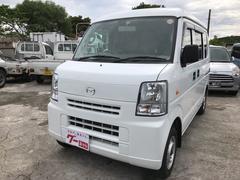 沖縄の中古車 マツダ スクラム 車両価格 38万円 リ済込 平成24年 15.9万K ホワイト
