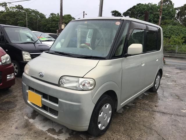 沖縄の中古車 ダイハツ タント 車両価格 19万円 リ済込 平成18年 15.6万km シャンパンゴールド