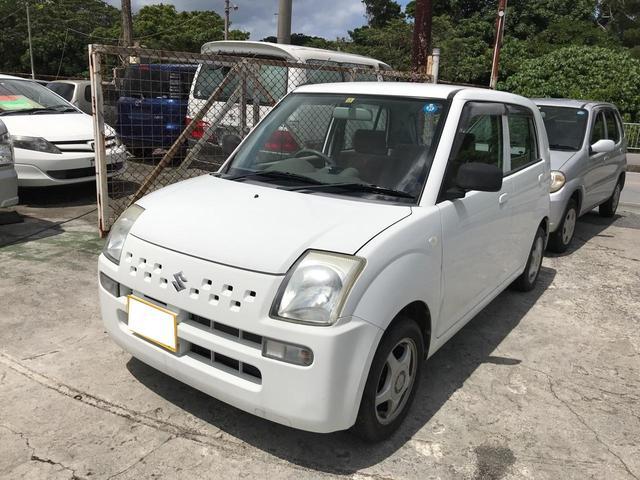 沖縄の中古車 スズキ アルト 車両価格 20万円 リ済込 2008(平成20)年 10.8万km ホワイト