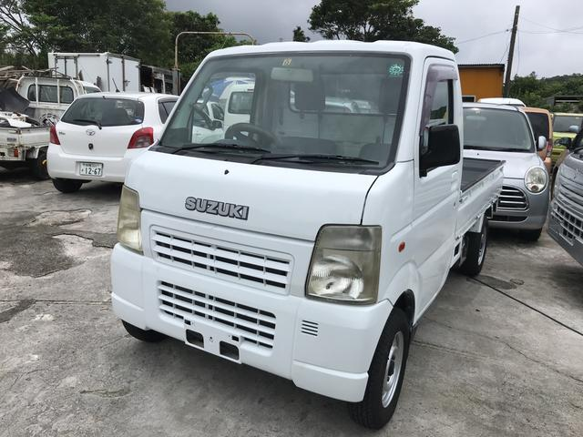 沖縄県の中古車ならキャリイトラック KCエアコン・パワステ AT車 4WD