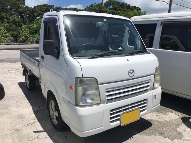沖縄の中古車 マツダ スクラムトラック 車両価格 39万円 リ済込 2010(平成22)年 15.3万km ホワイト