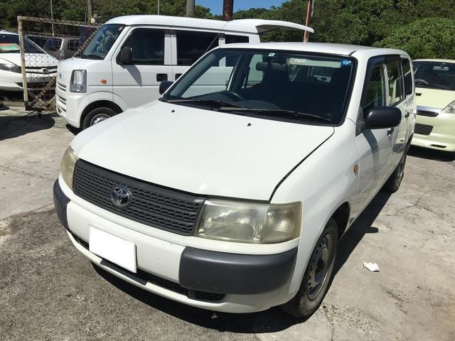 沖縄の中古車 トヨタ プロボックスバン 車両価格 18万円 リ済込 2007(平成19)年 16.3万km ホワイト