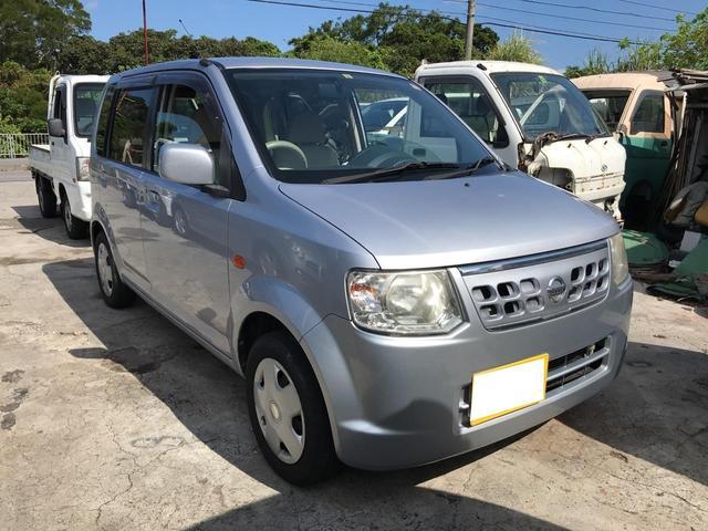 沖縄の中古車 日産 オッティ 車両価格 23万円 リ済込 2012(平成24)年 14.8万km シルバー